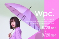 wpc.ポップアップショップ8月28日(土)-9月20日(月)